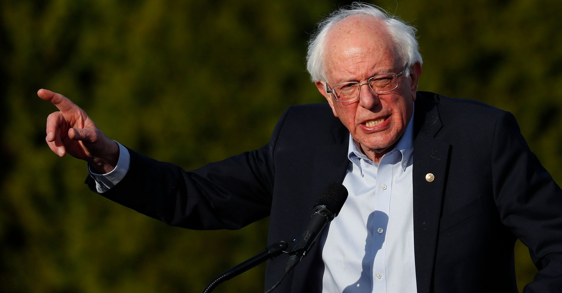Westlake Legal Group 5cb35c941f0000c6007f1bae Bernie Sanders Accuses Liberal Think Tank Of Trying To Stymie His 2020 Campaign