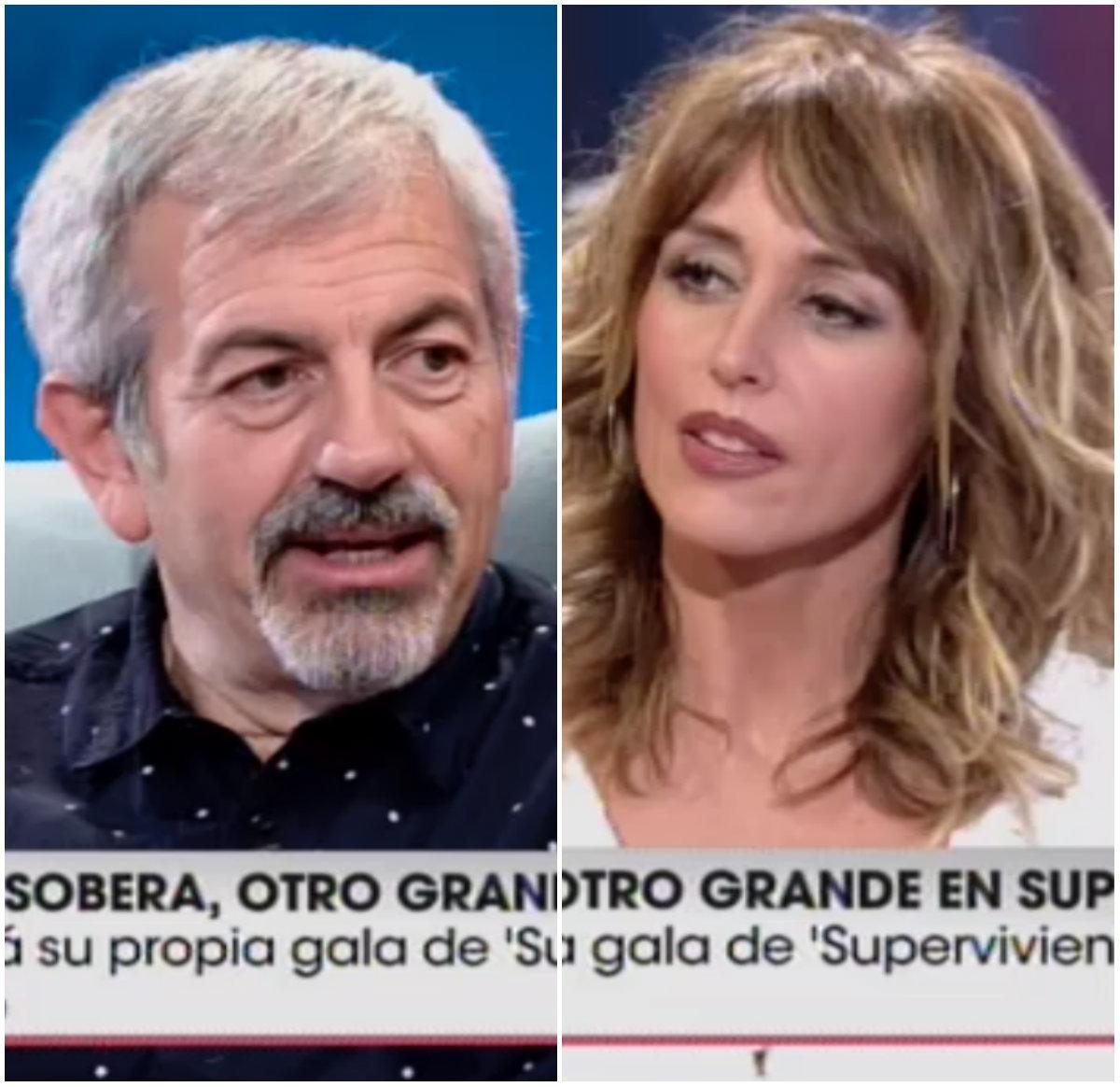 Carlos Sobera y Emma García en 'Viva La