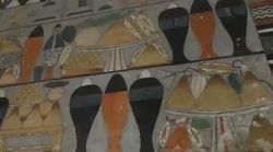 Οι εντυπωσιακές ζωγραφιές ενός αιγυπτιακού τάφου 4.400