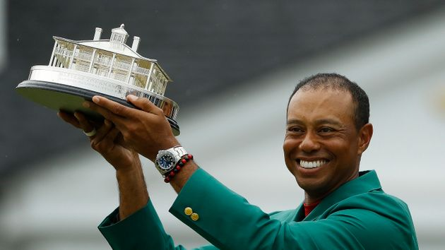 The 43-year-old won the Masters for a fifth time on an enthralling final day at Augusta