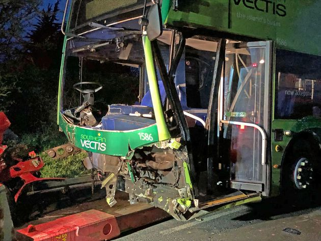 Isle Of Wight Crash: One Dead And 22 Injured After Collision