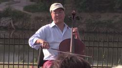Yo-Yo Ma Jabs Trump As He Plays Cello At U.S.-Mexico