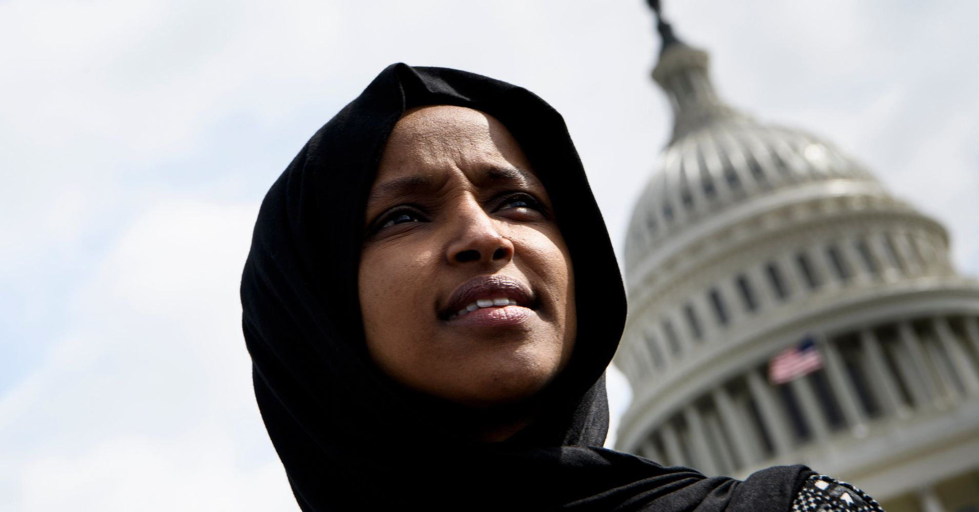 Rep. Ilhan Omar Says Death Threats Have Increased Since Trump's Attack