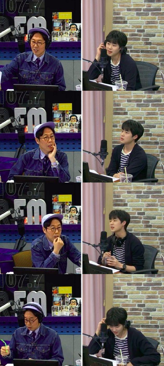 배우 조병규가 방송에서 김보라에 대한 애정을 드러내며 한