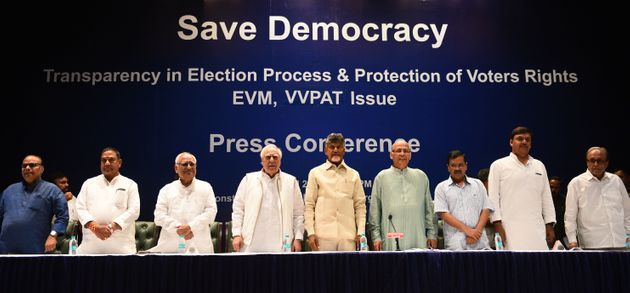 Opposition Wants 50% VVPAT Votes Verified This Election, Will Move