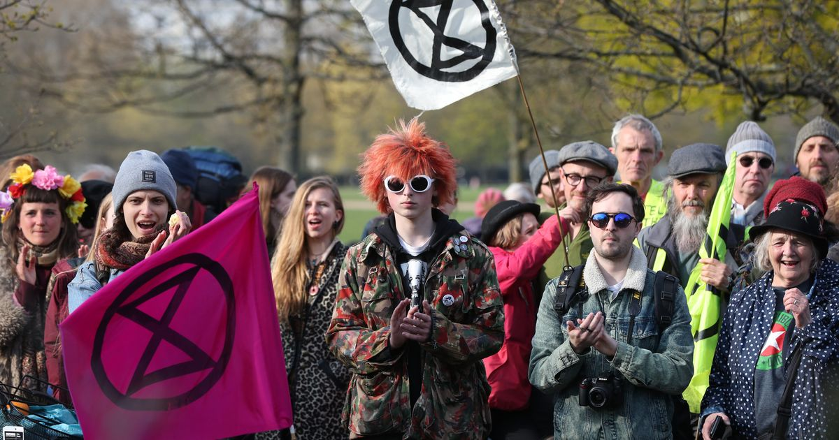 Climate Protestors Aim To Bring London To A Halt By Blocking Major Roads