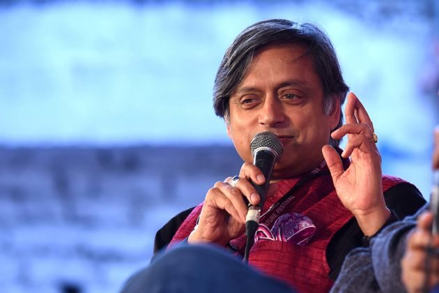 Shashi Tharoor Injured While Visiting Kerala Temple,
