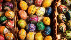 Πάσχα: Η παράξενη παράδοση με τα ωμά ζωγραφιστά αυγά στην