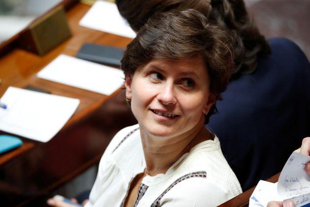 La ministre des Sports, Roxana Maracineanu, (ici lors de sa première séance de Questions...