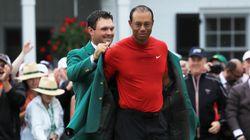 U.S. Presidents Salute Tiger Woods On Masters