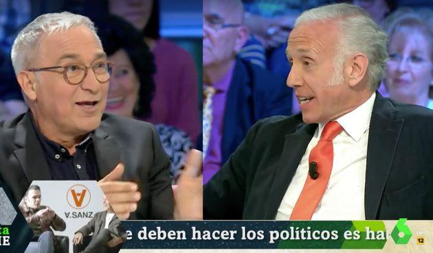 Eduardo Inda desvela en 'La Sexta Noche' que votará a uno de estos dos