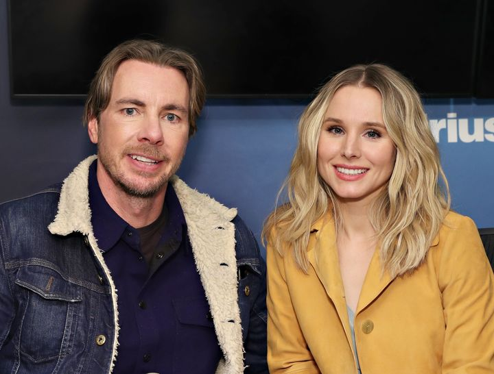 "Dax Shepard and Kristen Bell may be the biggest celebrity fans of ""Game of Thrones,"" and proved it again at a Season 8 premie"