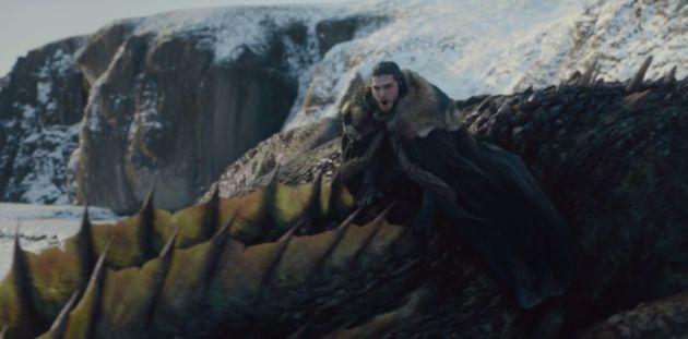 Premier envol solitaire à dos de dragon pour Jon