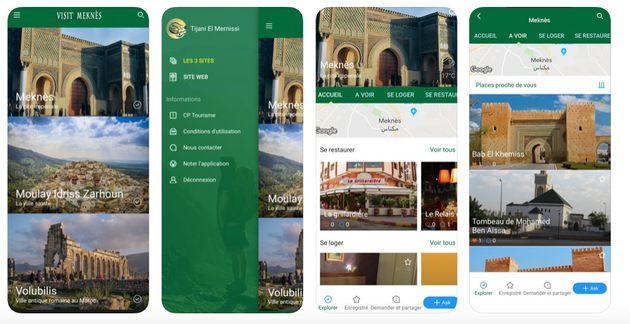 Lancement d'une application mobile destinée aux visiteurs de