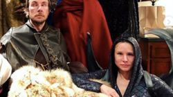 Kristen Bell Brings The Fire For Icy 'Game Of Thrones'