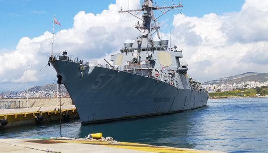 Ενα αμερικανικό αντιτορπιλικό στον Πειραιά: Επίσκεψη στο USS