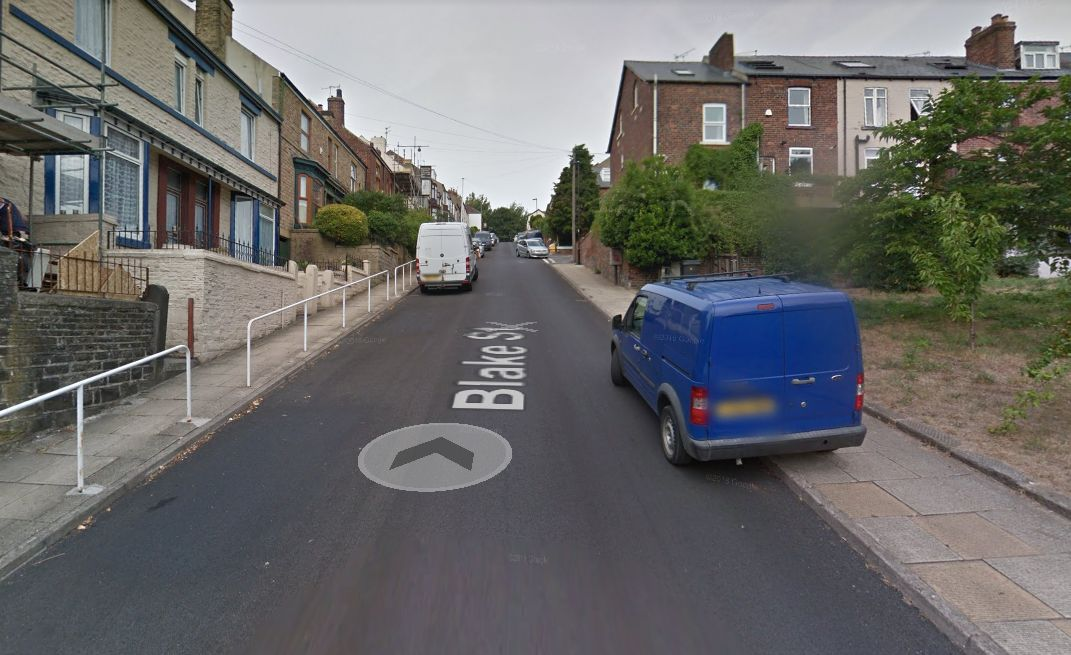 Blake Street, in Sheffield, is among Britain's steepest streets according to Ordnance Survey.