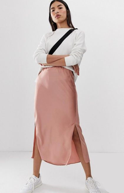 latest fashion durable service new style & luxury 9 Of The Best Satin Slip Skirts For Your Spring-Summer ...