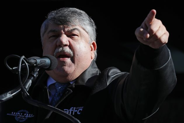 Richard Trumka, president of the AFL-CIO, has been a fierce advocate for union workers. But he faces...