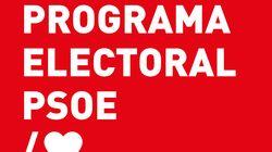 Este es el programa íntegro del PSOE para el