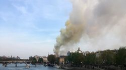Fire Engulfs Historic Notre Dame Cathedral In