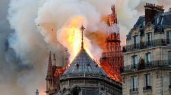 Macron reporte son allocution après l'incendie à