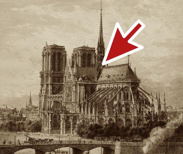 Dónde se originó exactamente el incendio de la catedral de Notre Dame, en