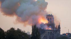 La cathédrale Notre-Dame de Paris sous les