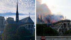 Incêndio destruiu teto e torre de Notre Dame; Veja fotos de antes e