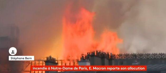 Incendie à Notre-Dame de Paris: Stéphane Bern au bord des