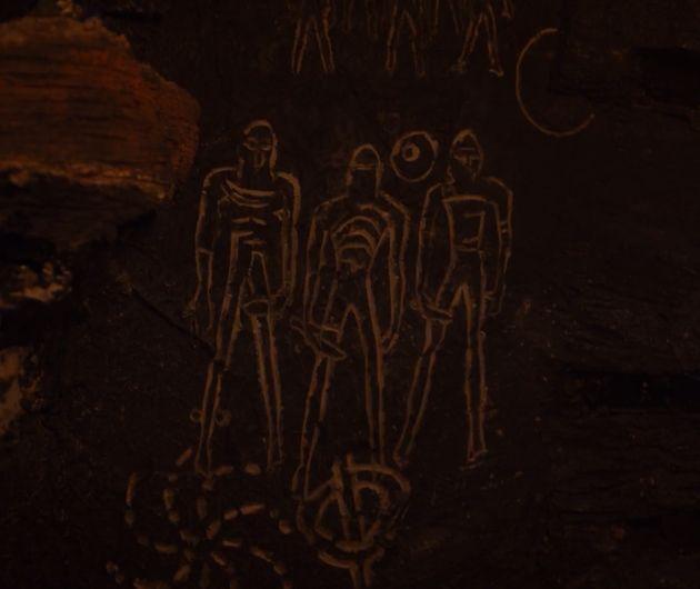 Cave symbols from Season