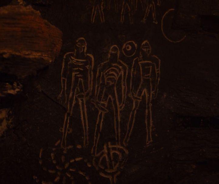 Cave symbols from Season 7.