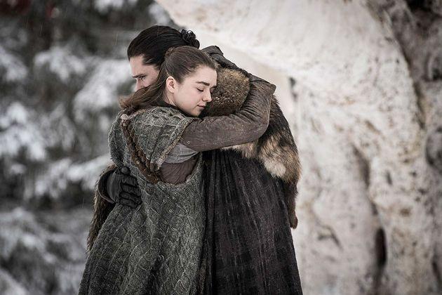 Depois de anos sem se ver, Ary e Jon Snow trocam meia dúzia de palavras e um
