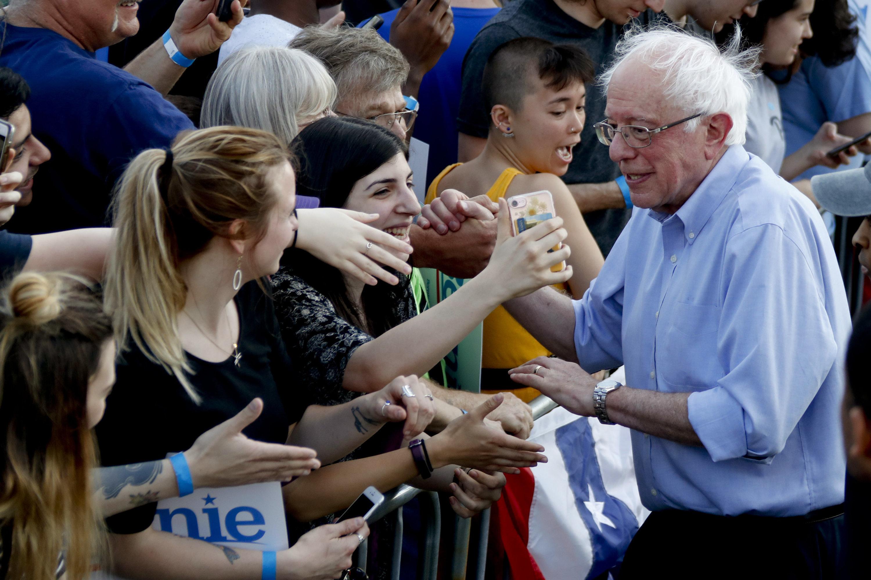 Bernie Sanders Releases 10 Years Of Tax Returns