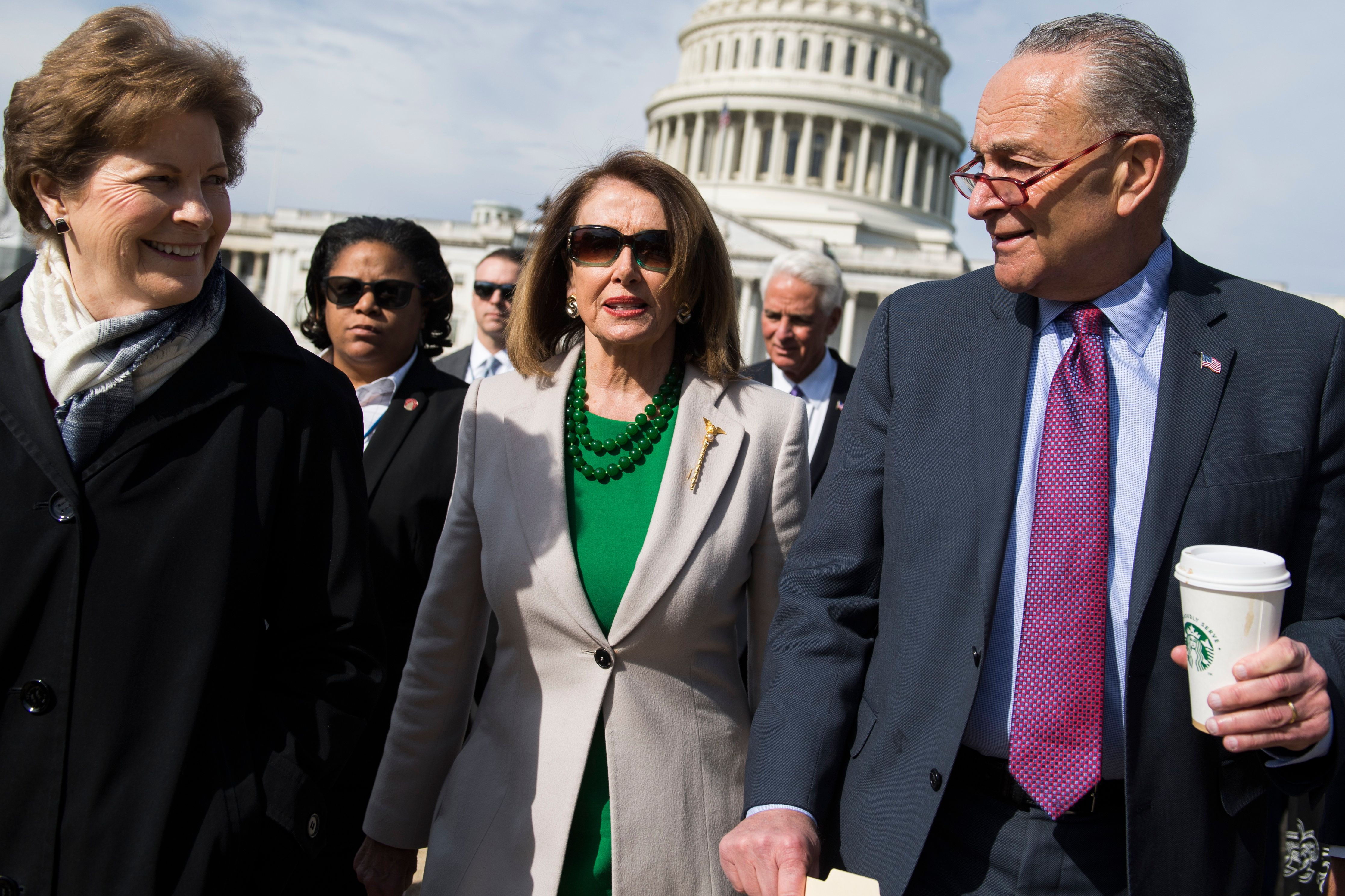 House Speaker Nancy Pelosi and Senate Minority Leader Chuck Schumer are heeding norms of decorum that...