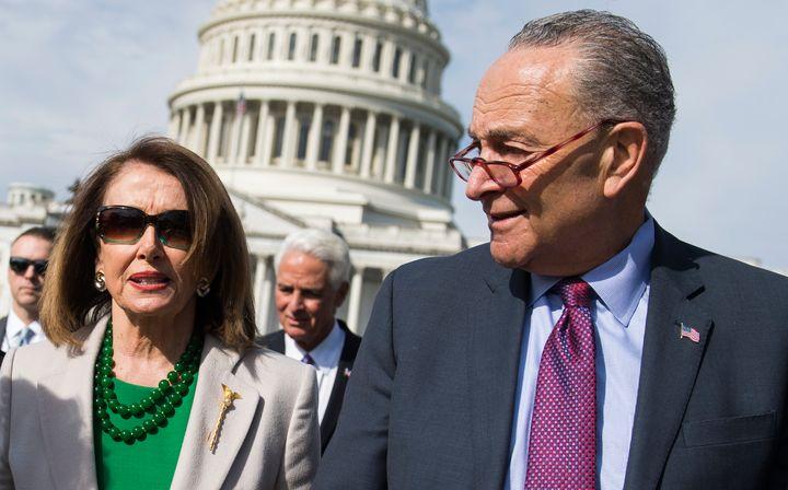House Speaker Nancy Pelosi and Senate Minority Leader Chuck Schumer are heeding norms of decorum that undermine their power.