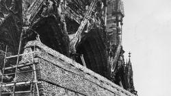 Bien avant Notre-Dame de Paris, la cathédrale de Reims a été quasi-détruite et entièrement