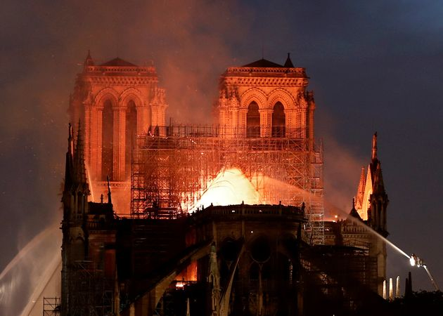 Within Minutes Of Notre Dame Cathedral Fire, Conspiracies