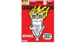 Charlie Hebdo utilise l'incendie de Notre-Dame pour tacler