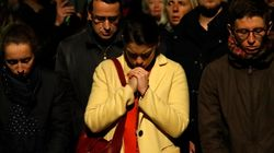 Parisians Sing 'Ave Maria' In Poignant Moment As Fire Ravages Notre Dame