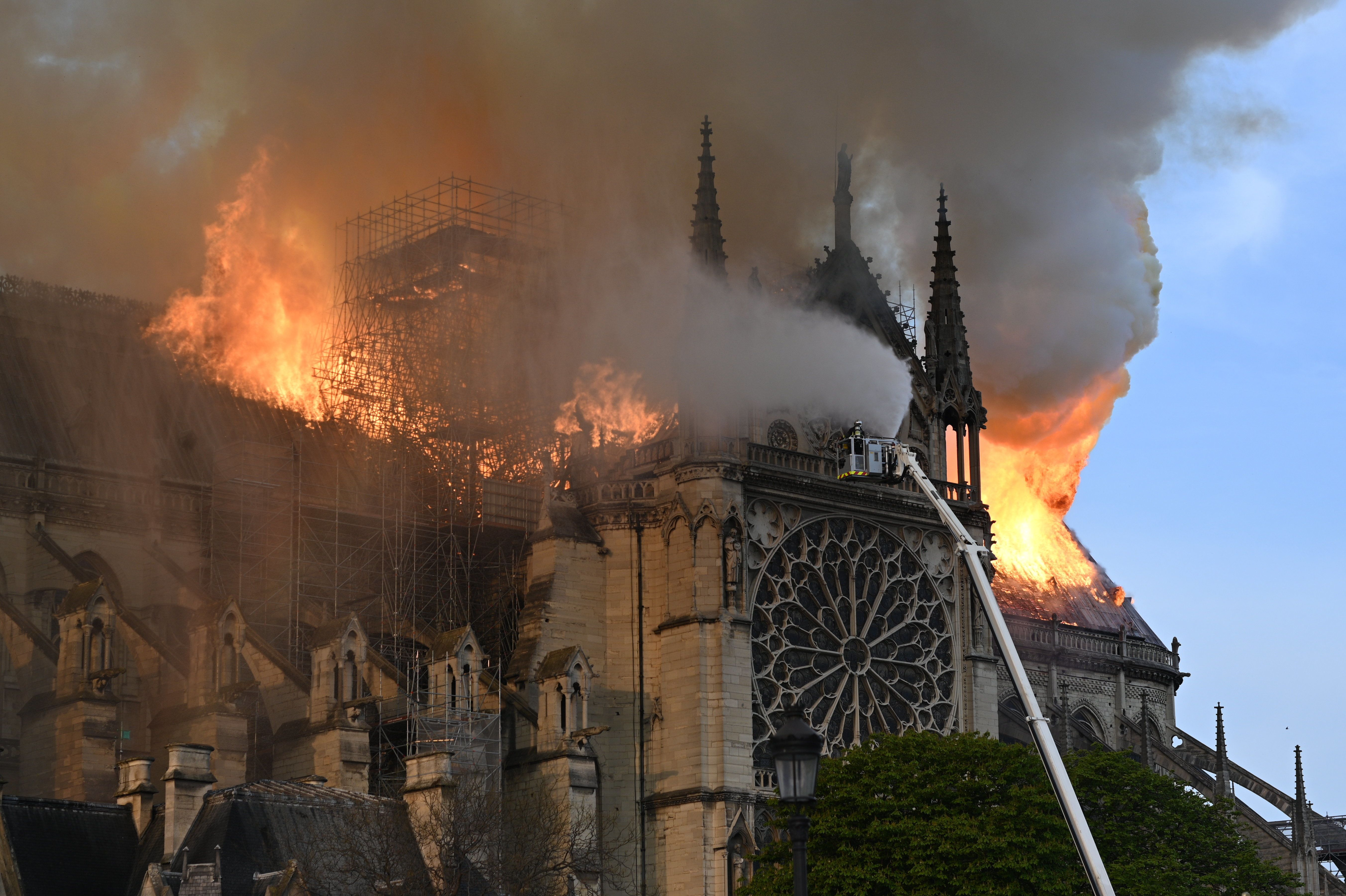 Tributes Pour In As The World Watches Notre Dame Cathedral Burn