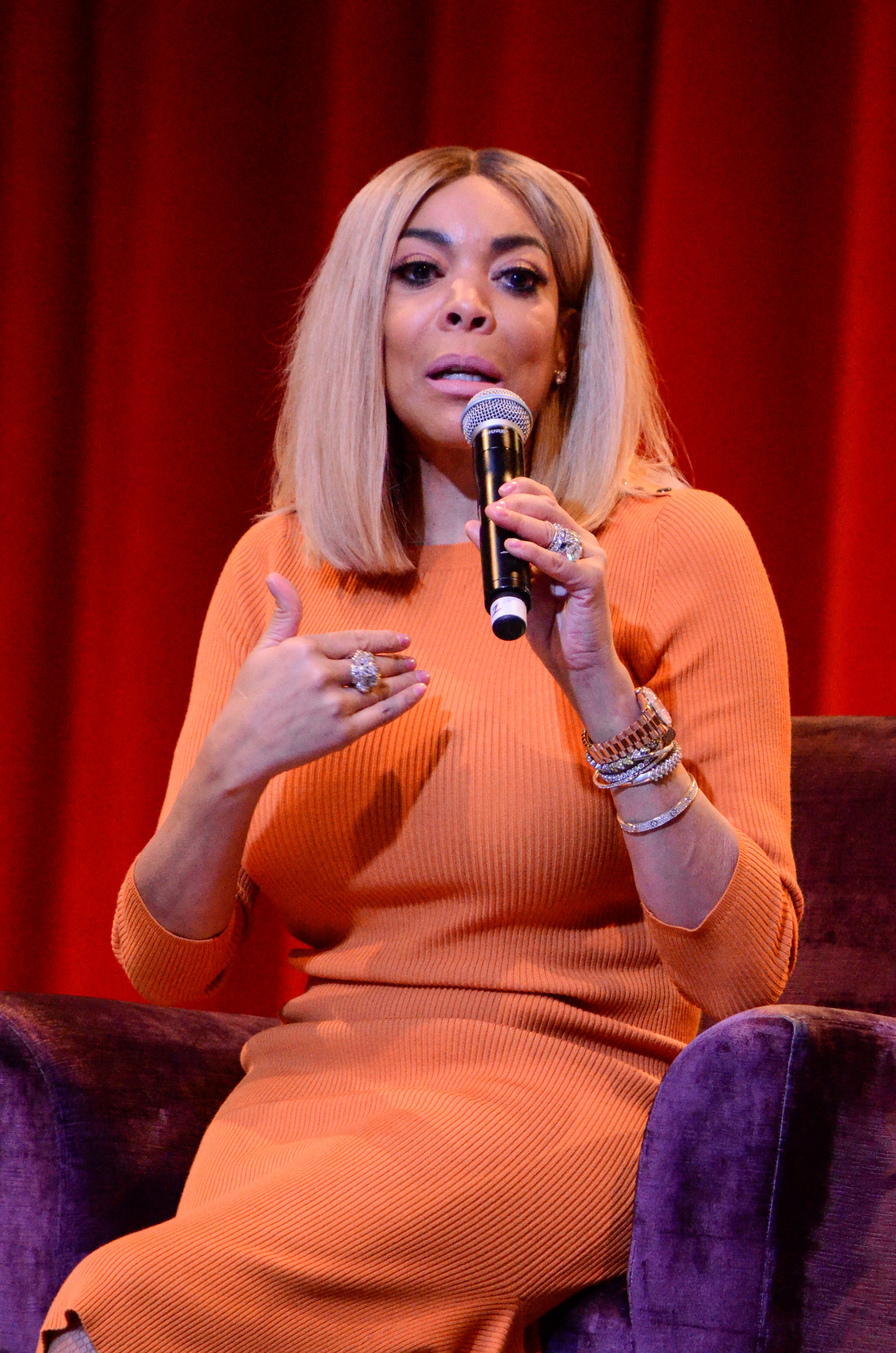 NEW YORK, NY - SEPTEMBER 29: Wendy Williams attends the WBLS/WLIB annual Circle of Sisters Expo at Jacob Javits Convention Center on September 29, 2018 in New York City. Credit: Raymond Hagans/MediaPunch /IPX