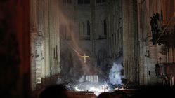 Les images de l'intérieur de Notre-Dame après