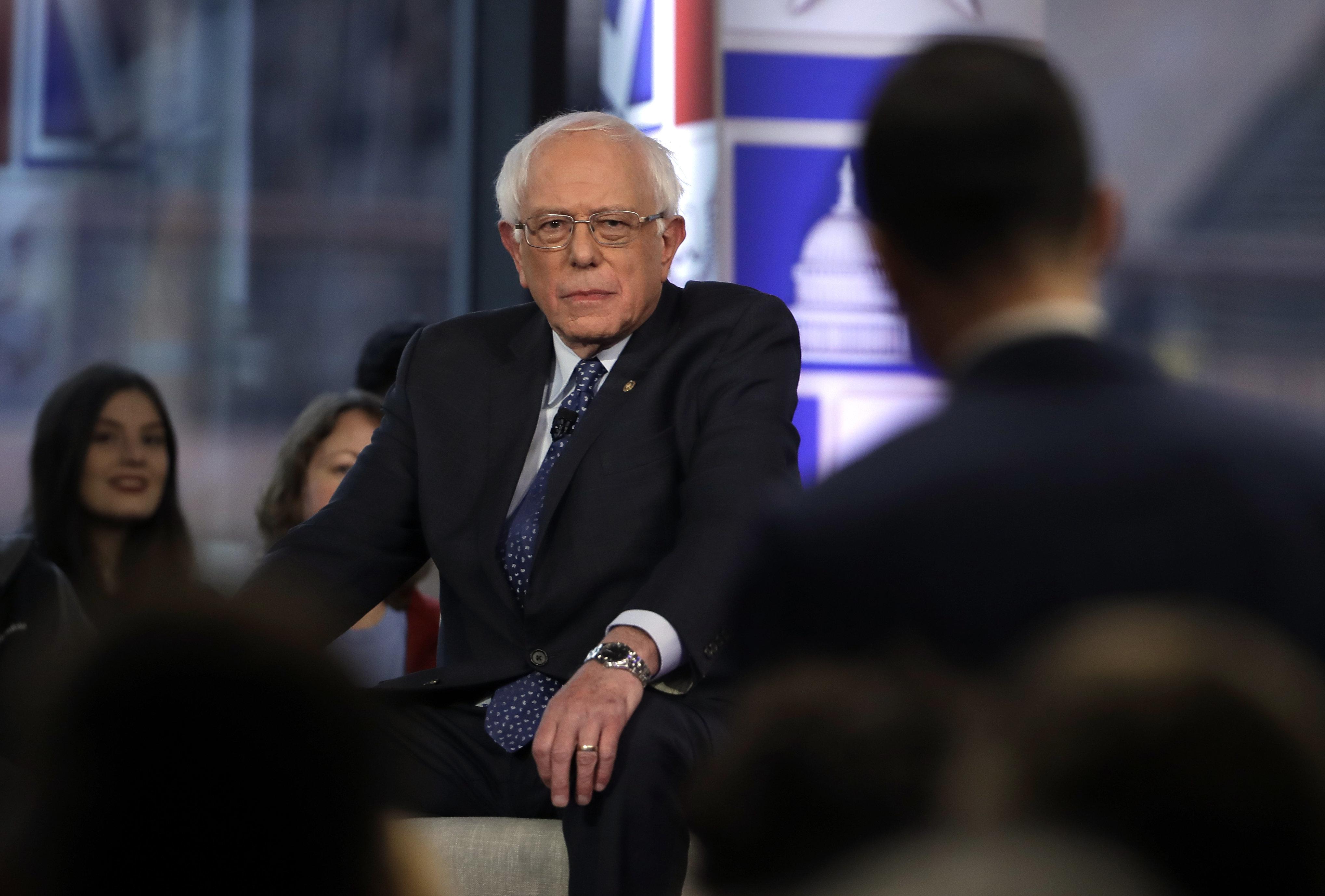 Bernie Sanders Says U.S. Should Build Migrant Facilities 'Right On The Border'