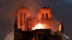 ノートルダム大聖堂の火災に「明日への再建に向かっていくのが、私たちだ」 各国首脳らが悲しみと応援ツイート