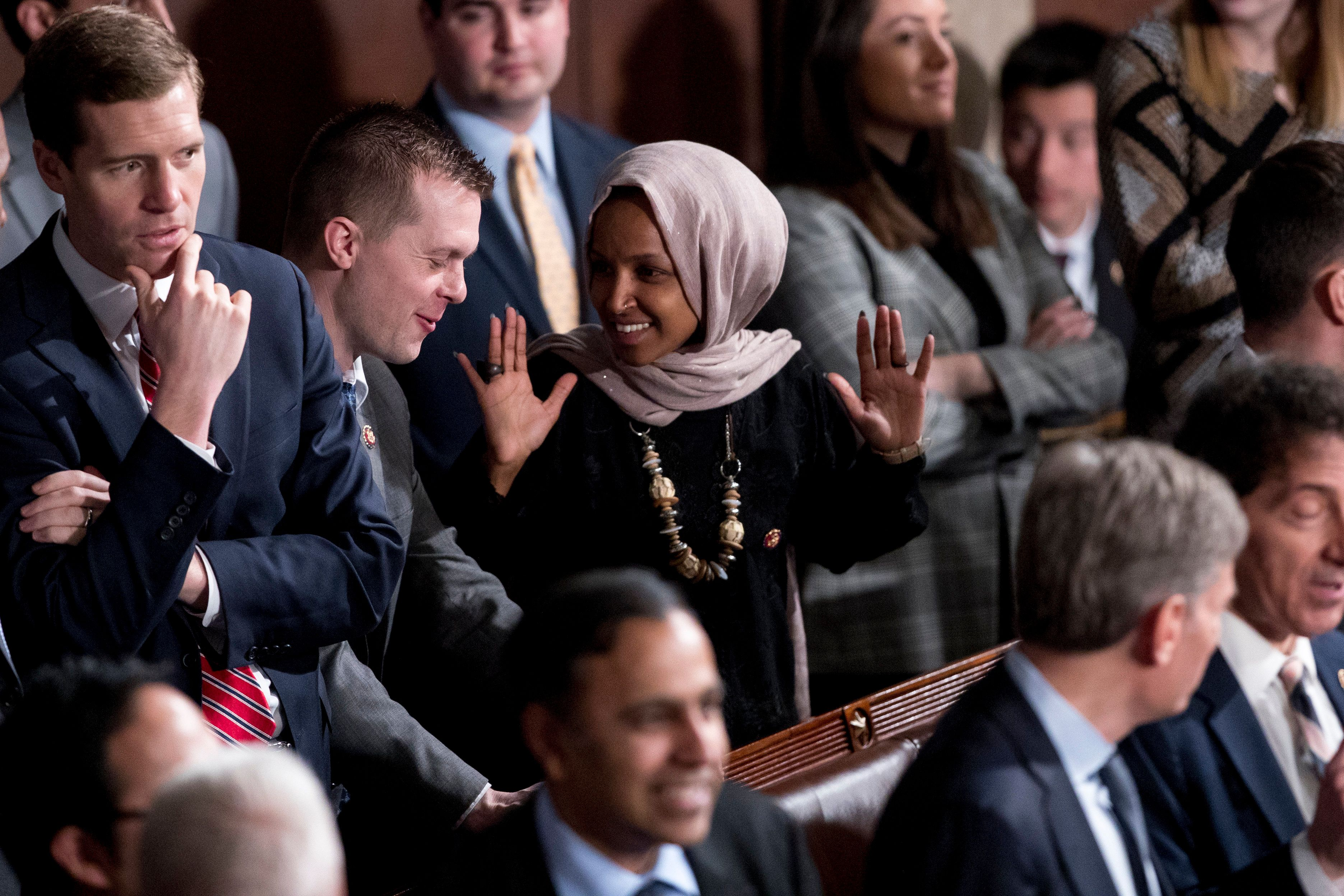 Supporters Have Omar's Back: Donations Surge Amid Death Threats