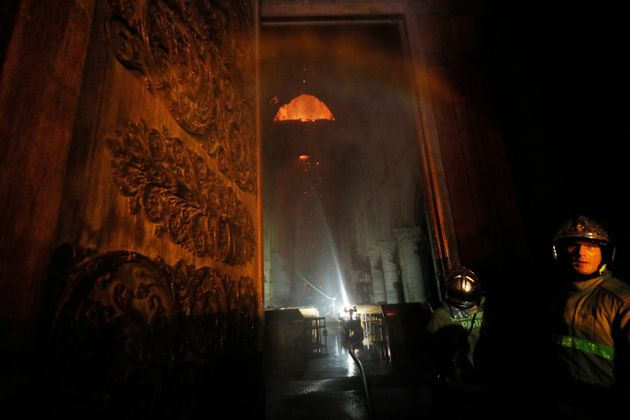 First Photographs From Inside Fire-Ravaged Notre Dame Reveal Heartbreak And