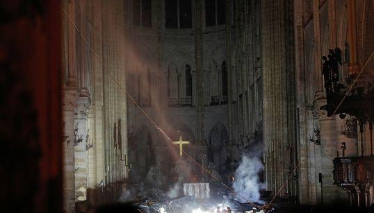 Así ha quedado la catedral de Notre Dame tras el devastador
