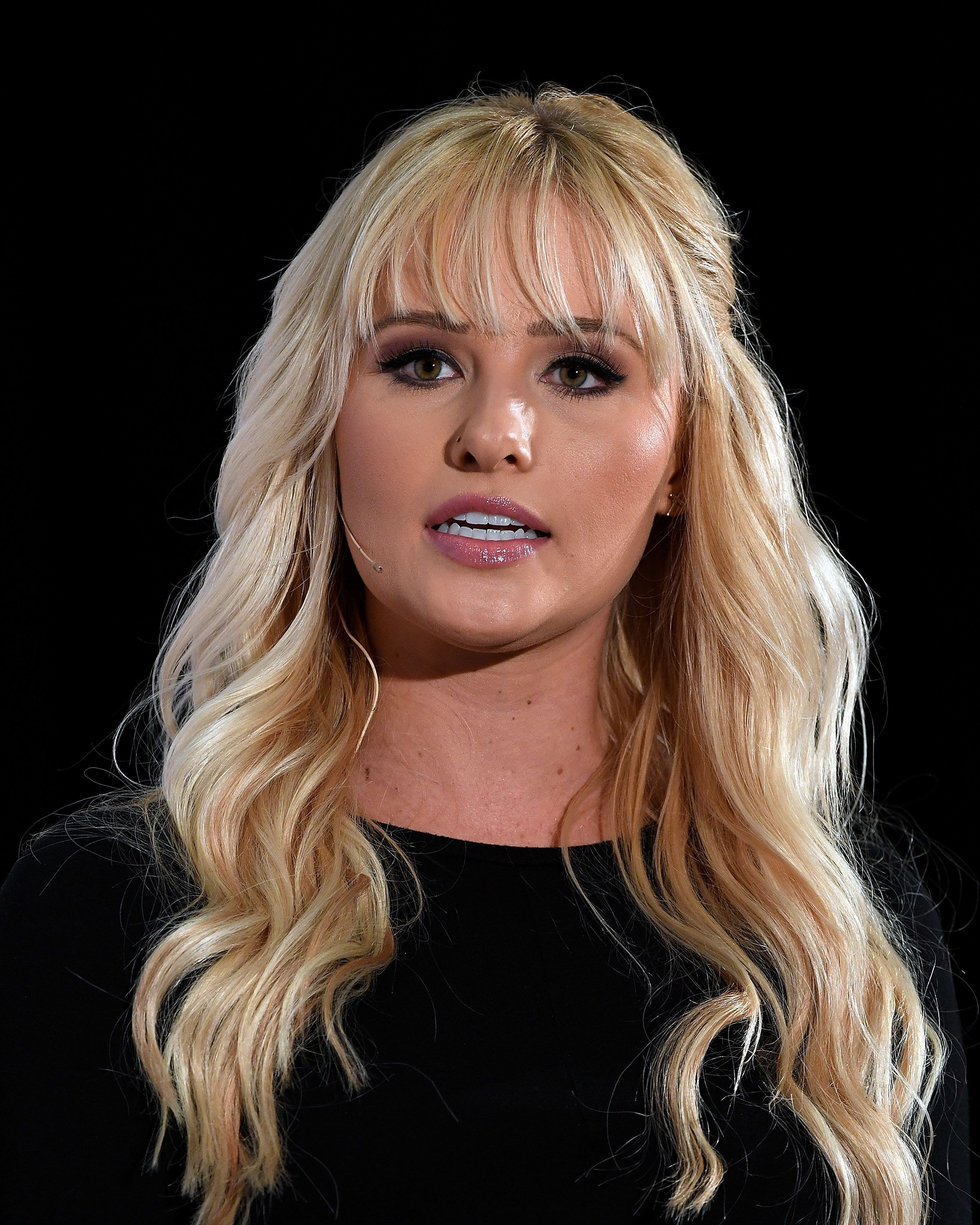 LOS ANGELES, CA - OCTOBER 21:  Conservative commentator Tomi Lahren speaks during Politicon 2018 at Los Angeles Convention Center on October 21, 2018 in Los Angeles, California.  (Photo by Michael S. Schwartz/Getty Images)