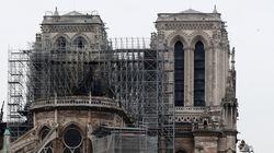 Notre-Dame de Paris, défigurée mais encore debout, sera